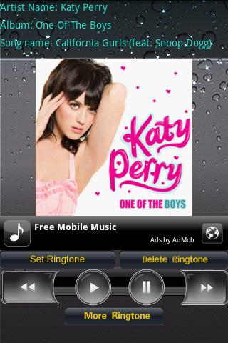 Ringtone Katy Perry Android Communication