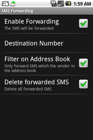 SMS Forwarding Android Tools