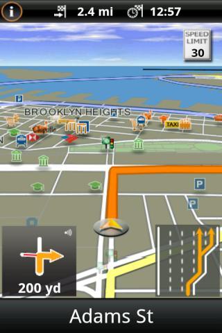 NAVIGON MobileNavigator USA Android Travel