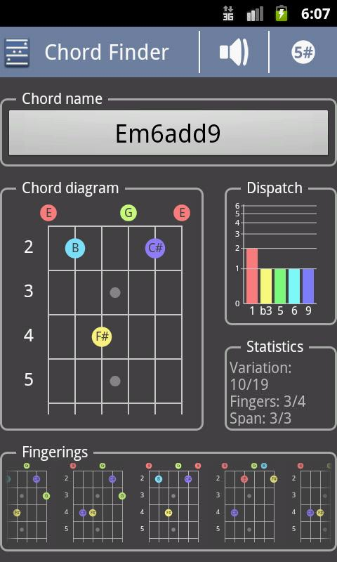Chord! (Chord Finder) Android Books & Reference