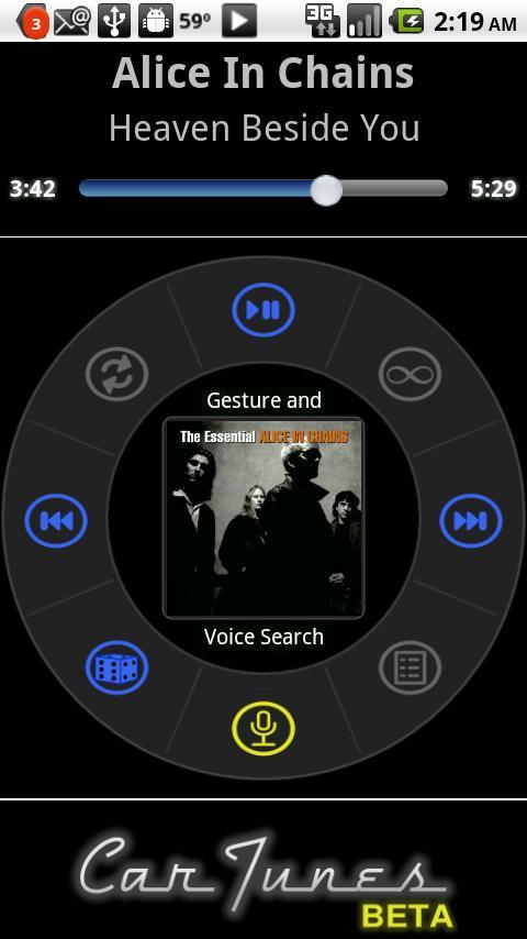 Car Tunes Music Player Beta Android Music & Audio