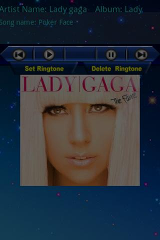 Ringtones of Lady Gaga Android Multimedia