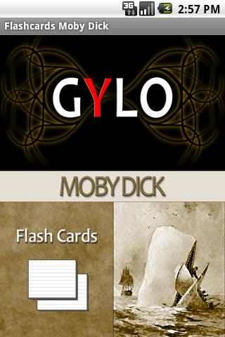 Moby Dick Flashcards Android Education