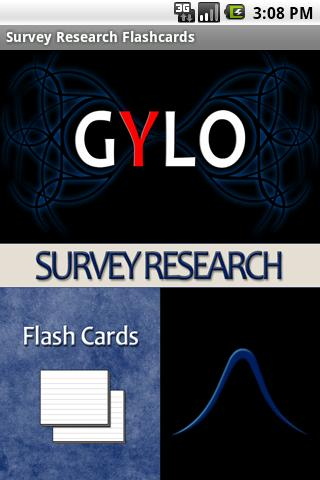Survey Research Flashcards Android Education
