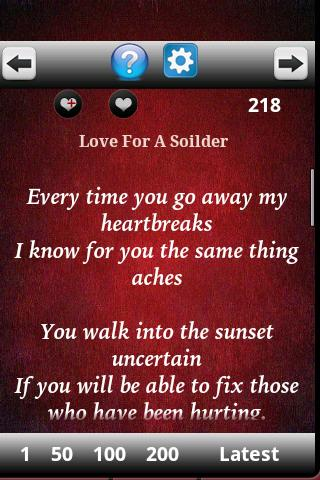Romantic Lovely Poems Android Entertainment