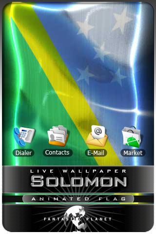 SOLOMON LIVE FLAG Android Entertainment