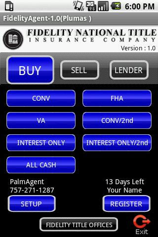 FidelityAgent NorCal Android Finance