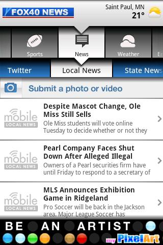 FOX 40 NEWS MOBILE Android News & Weather