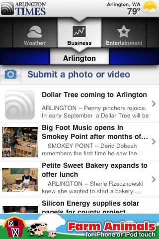 Arlington Times Android News & Weather