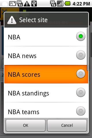 NBA basketball Android Sports