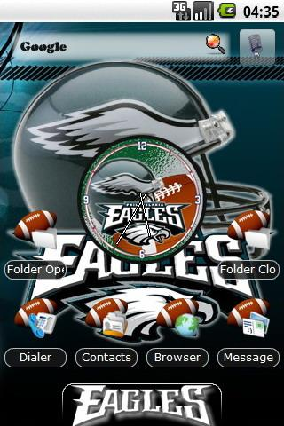 Philadelphia Eagles themes Android Personalization
