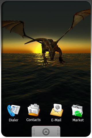 DRAGON live wallpaper . Android Themes