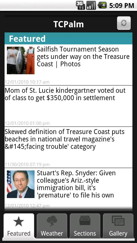 TCPalm Android News & Weather