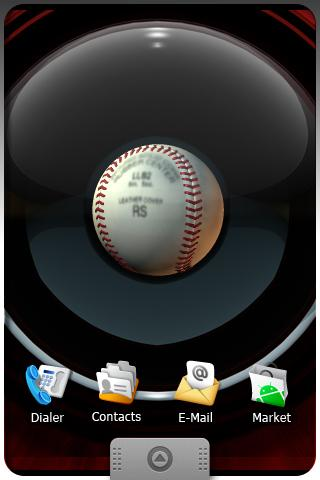 BASEBALL Live Wallpaper Android Themes