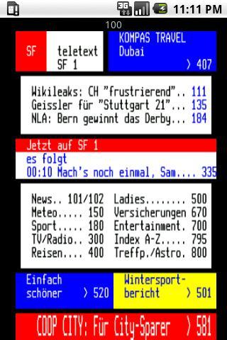 SwissTXT Android News & Magazines