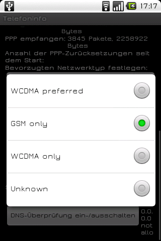 Network Android Tools