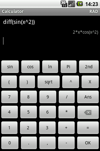 Algeo graphing calculator Android Productivity