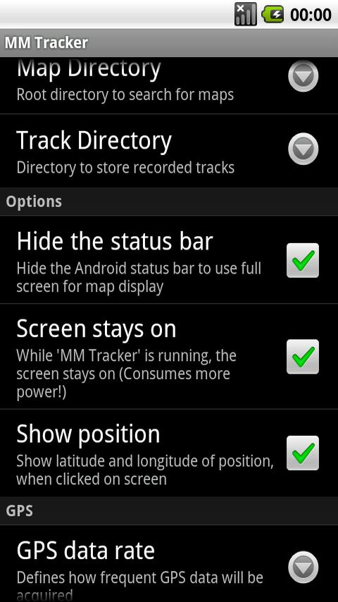 MM Tracker FREE Android Travel & Local