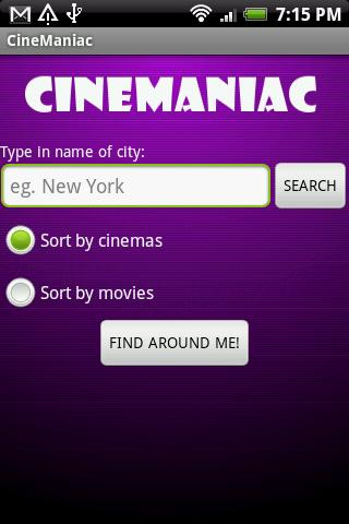 CineManiac Android Lifestyle