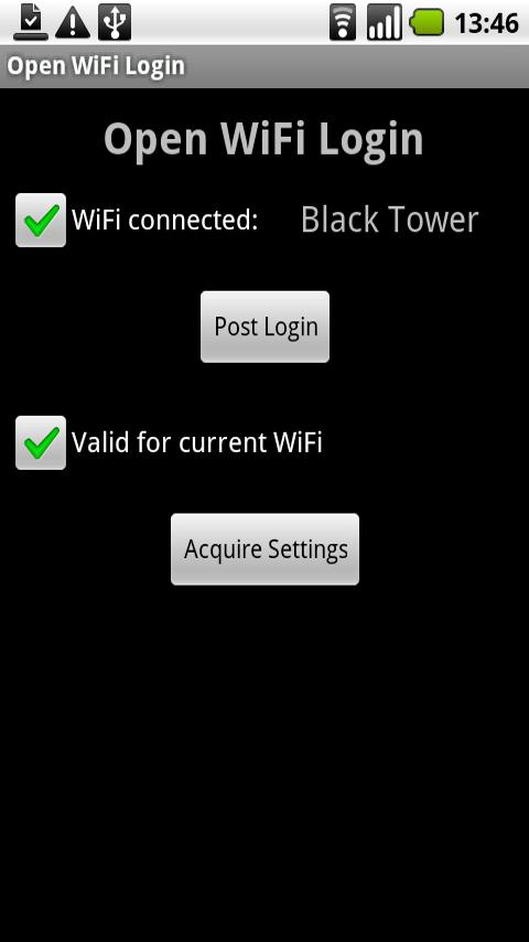 Open WiFi Login Android Tools