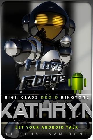 KATHRYN nametone droid Android Multimedia