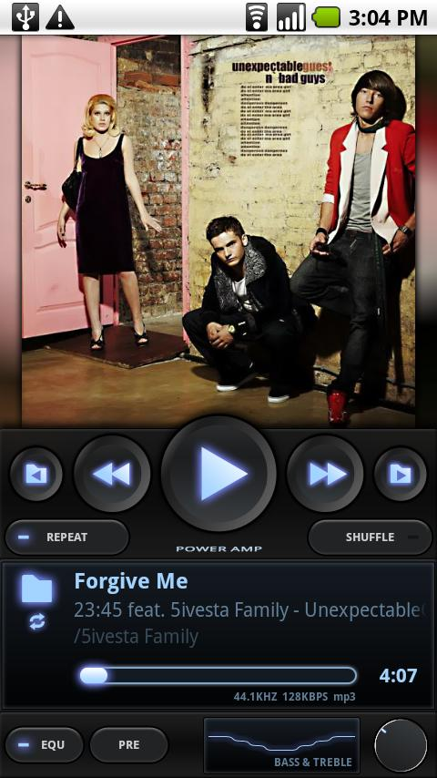 PowerAMP Music Player (Trial) Android Music & Audio