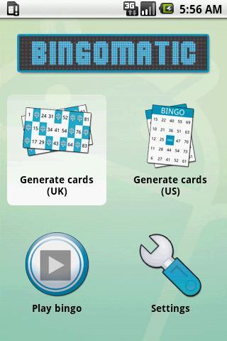 Bingomatic Android Entertainment