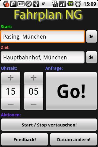 Fahrplan NG Android Travel