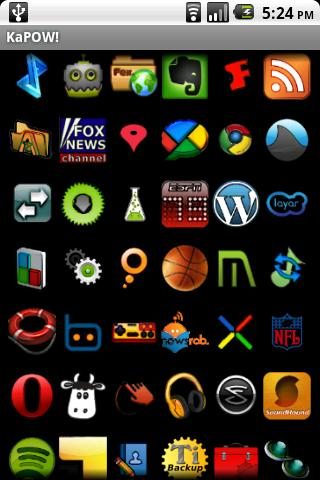 KaPOW! ADW Theme Android Themes