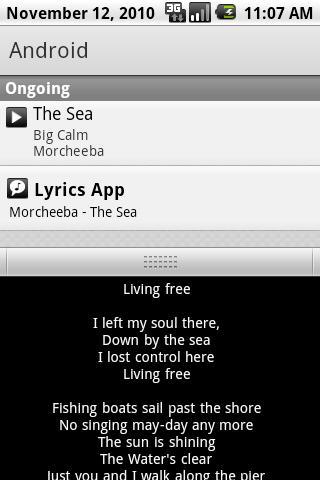 Lyrics App Android Multimedia
