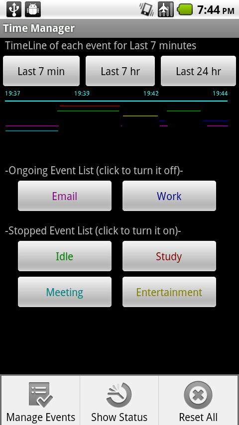 Time Manager Android Tools