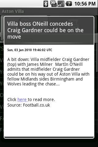 Aston Villa – Latest News Android News & Weather