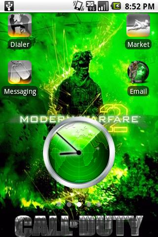 Modern Warfare 2 Theme Android Themes