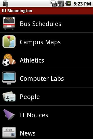 IU Mobile Android Education