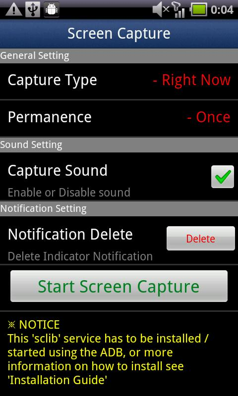 Screen Capture -No Rooting 2.2 Android Entertainment