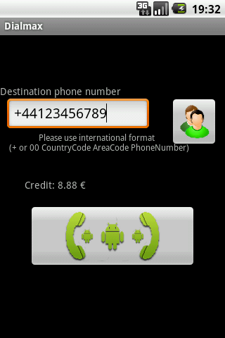 Dialmax Android Communication