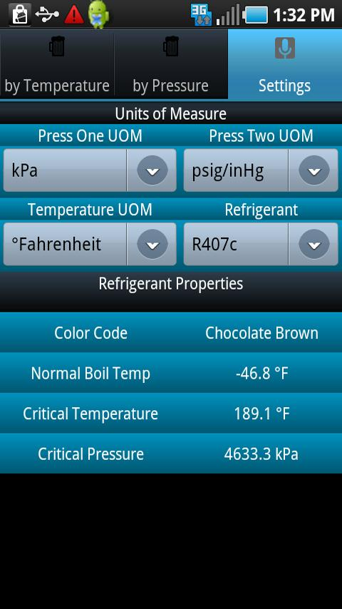 HVAC Buddy Refrigerant Press Android Business