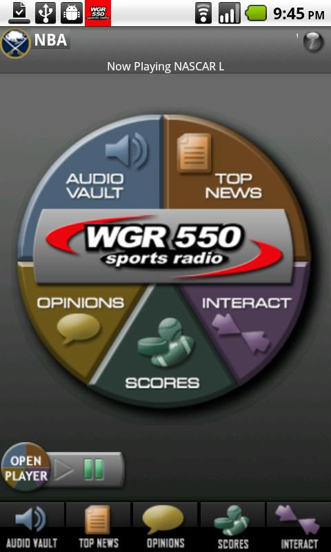 WGR – Sports Radio 550 Android Sports