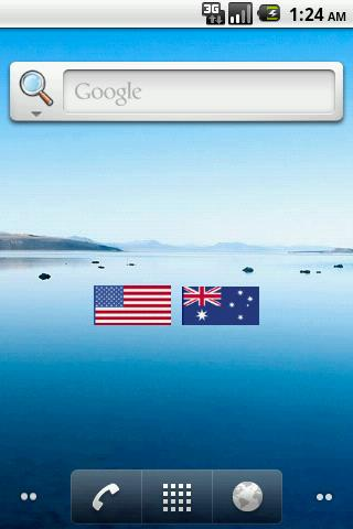 Flag Widget Android Books & Reference