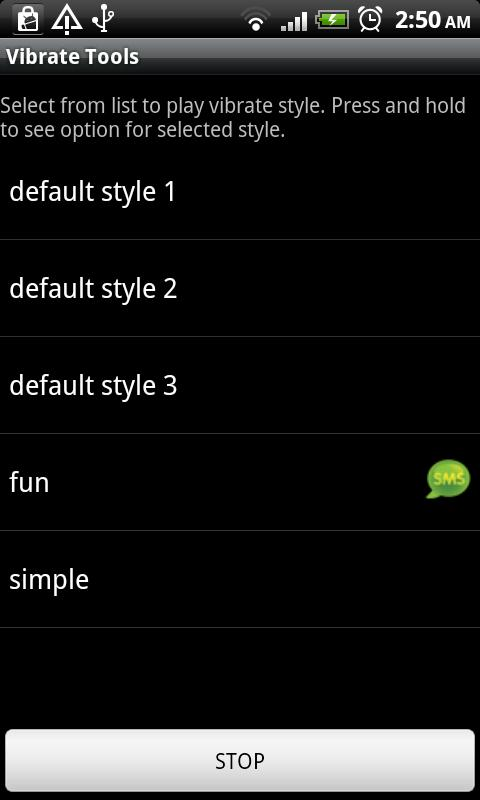 Vibrate tools Android Tools