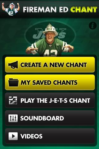 NY Jets Fireman Ed App Android Sports