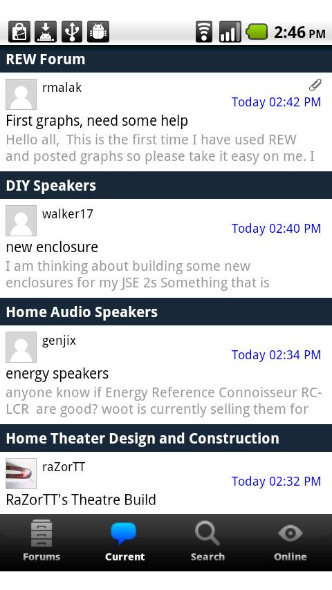 Home Theater Shack – Forums Android Social