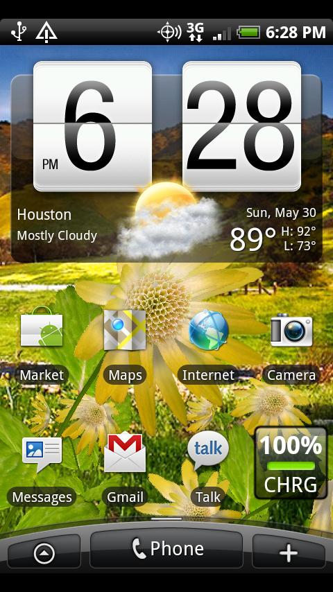 Flowers Live Wallpaper Android Personalization