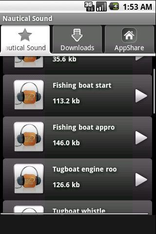 Nautical Sound Android Music & Audio