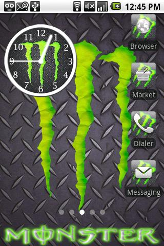 Monster Energy Theme 2 Android Personalization