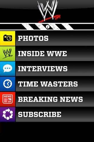 WWE Official Mobile Magazine Android Entertainment