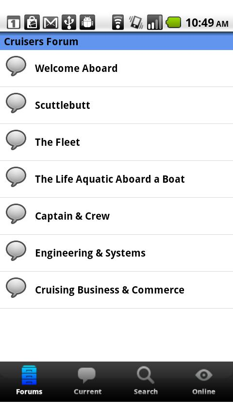 Sailing & Boating Community Android Social