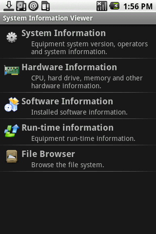 System Information Viewer Android Tools