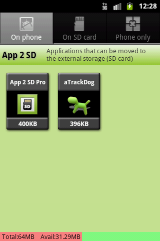App 2 SD Pro (move apps to SD) Android Tools
