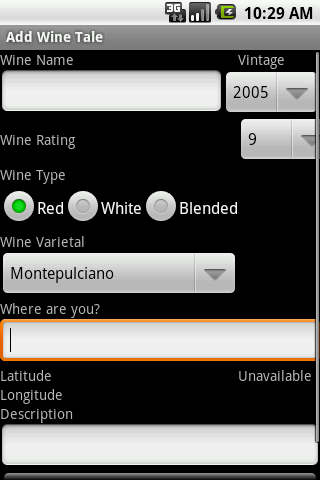 My Wine Tales Android Lifestyle